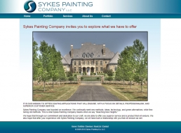 "<a href=""http://www.sykespainting.com/"" target=""_blank"">Visit the site »</a>"